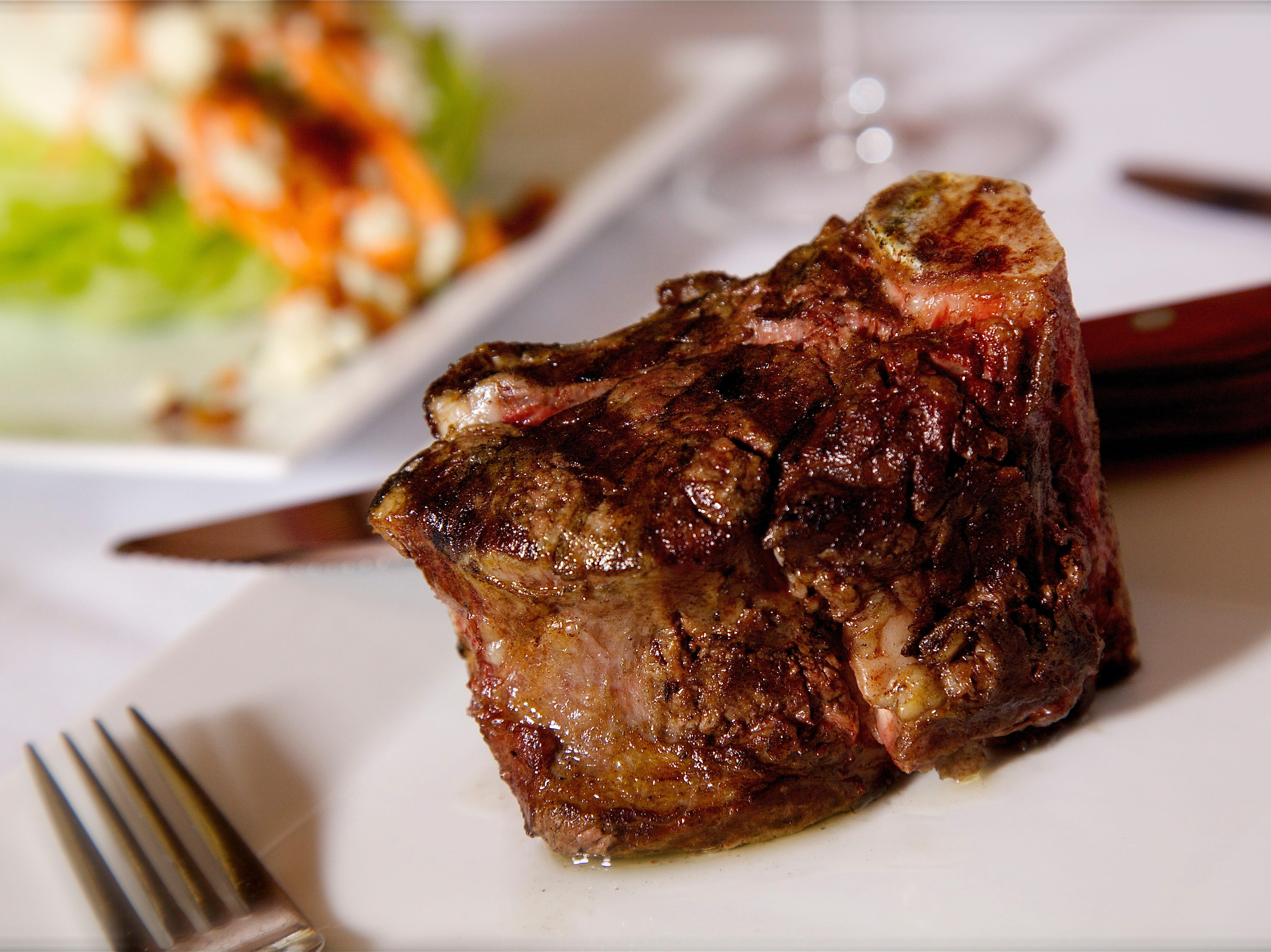 The menu at Keeler's features Certified Angus Beef specialty cut steaks and American comfort food.