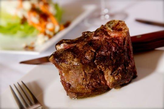 The menu at Keeler's Neighborhood Steakhouse features certified Angus beef specialty-cut steaks and American comfort food.