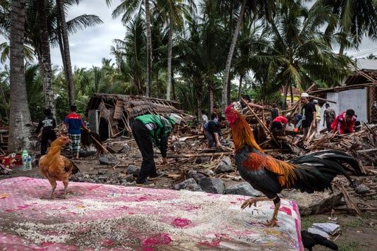 Volcano Triggered Tsunami Hits Indonesia S Sunda Strait