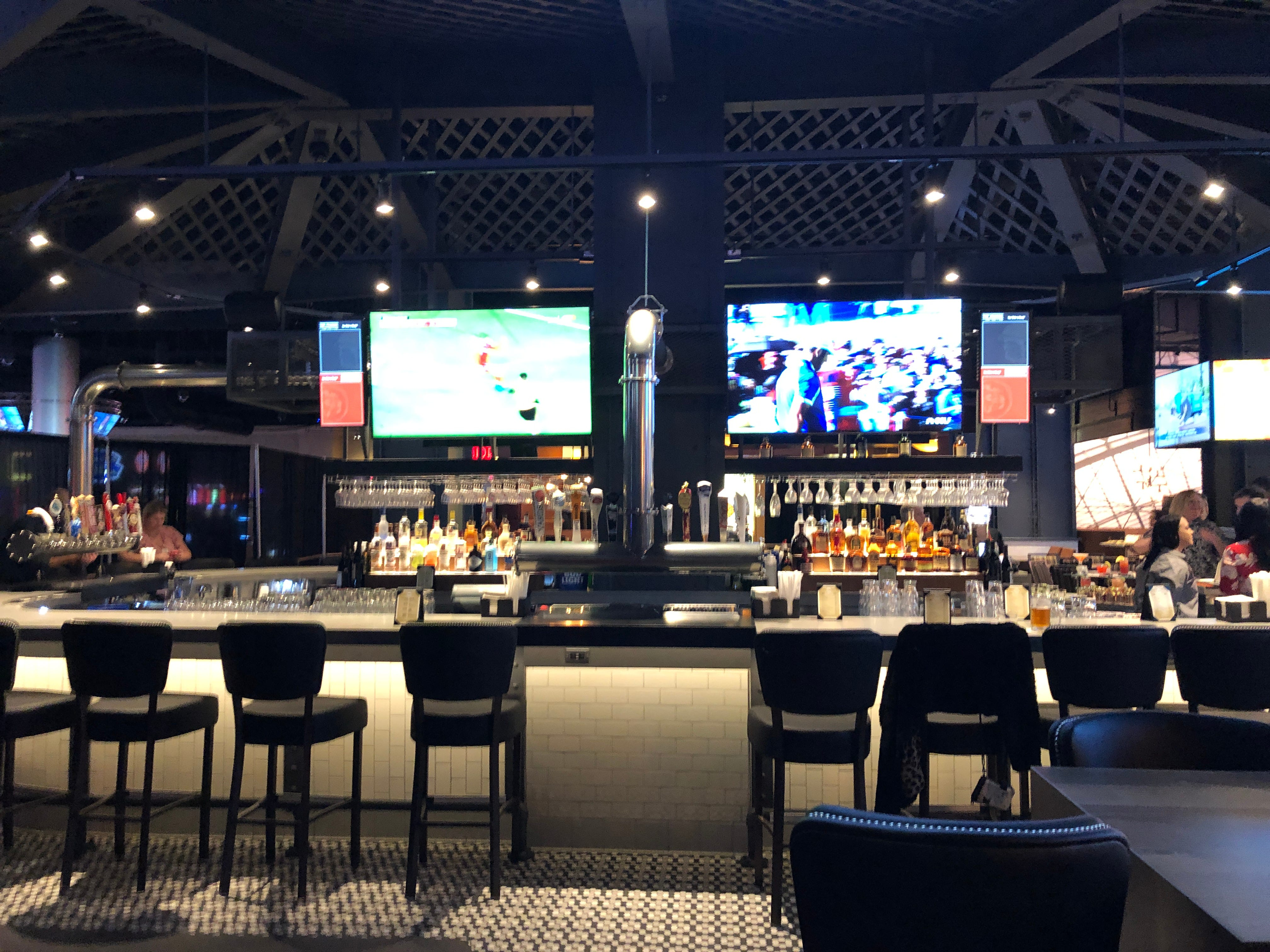 Penn Drafthouse is the place to grab a local beer or cocktail and watch the game.