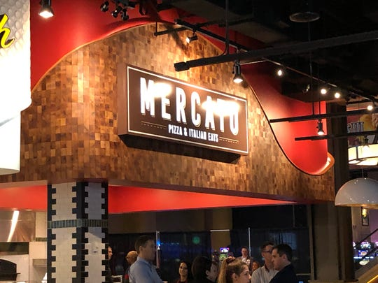 Mercato's pizza and authentic Italian eats such as meatball sandwiches are the types of foods Chef Viviani is known for.