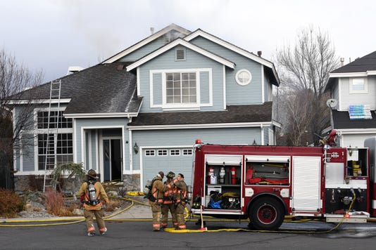 Reno House Fire