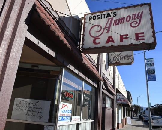 Rosita's Armory Cafe closed in 2018.