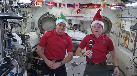 Elf On The Iss