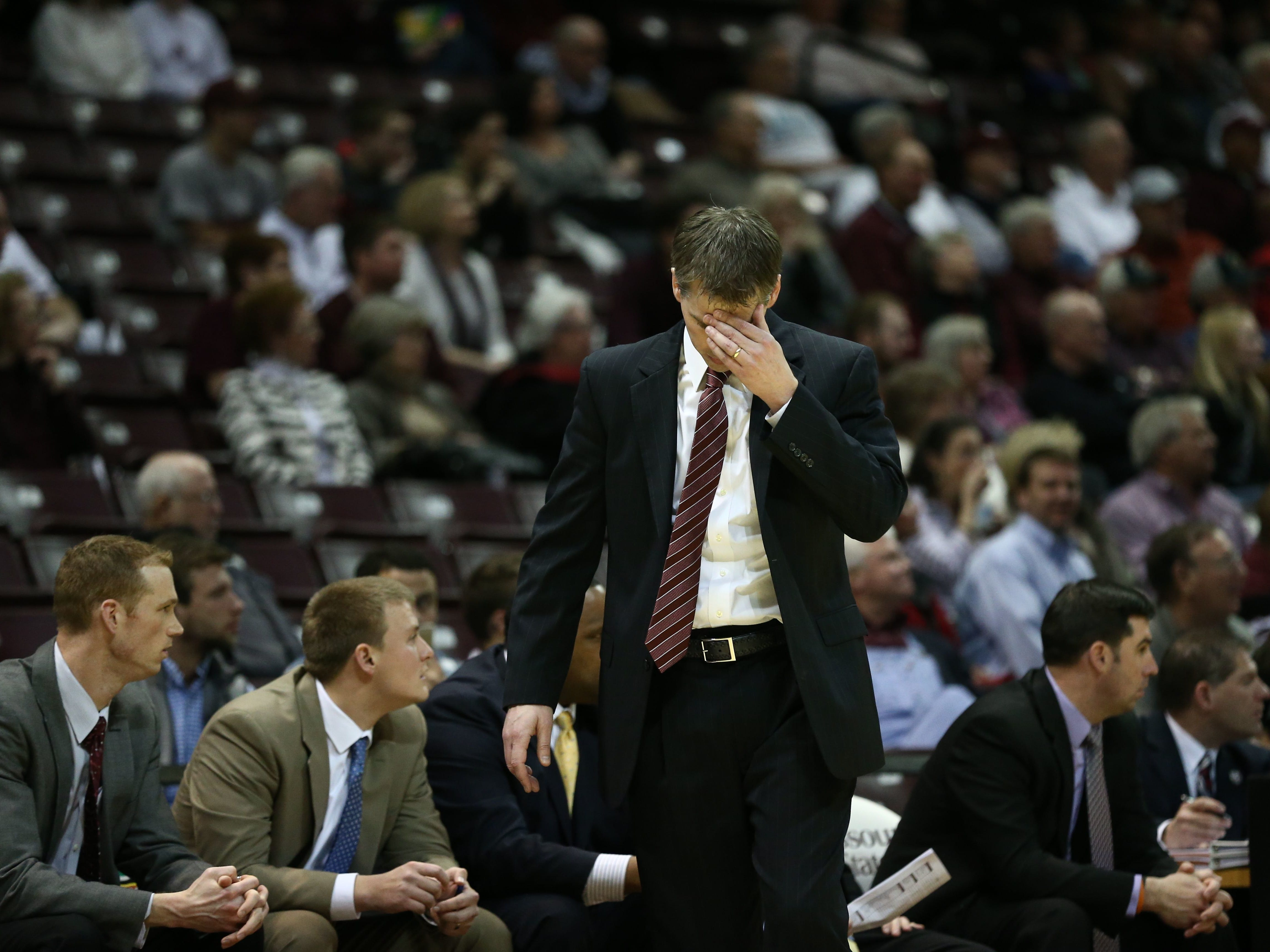 March 3: Basketball coach Paul Lusk is fired by Missouri State.
