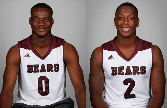Jan. 22: Missouri State's Abdul Fofana, left, and Reggie Scurry injured during cryotherapy incident.