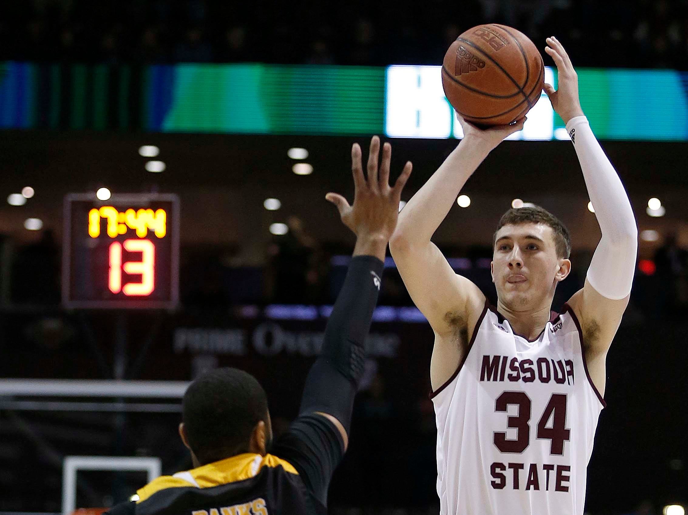 Dec. 22: Jared Ridder makes JQH Arena debut with Missouri State.