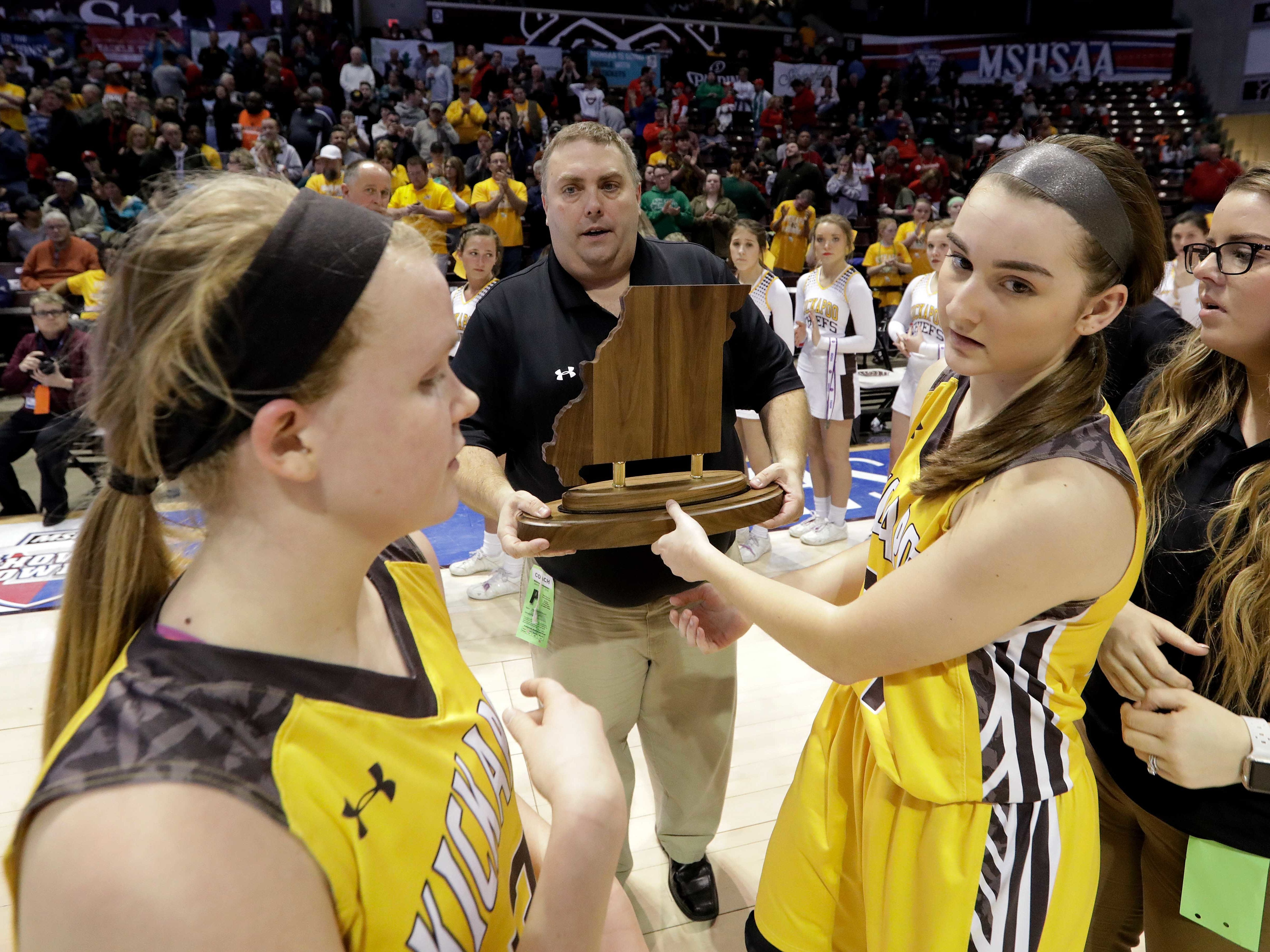 March 17: Kickapoo girls fall in state championship game.