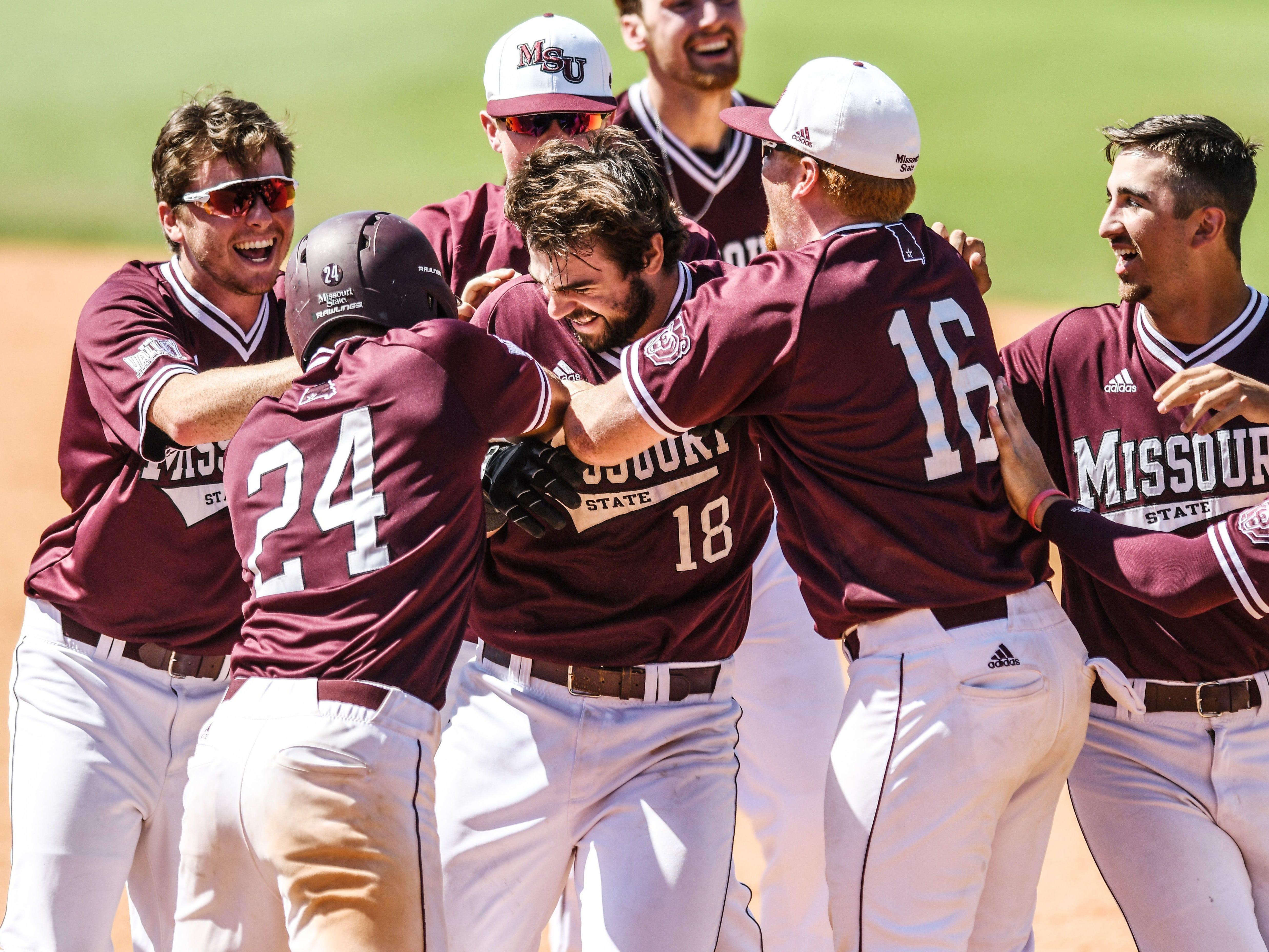 May 27: Missouri State baseball wins MVC title.