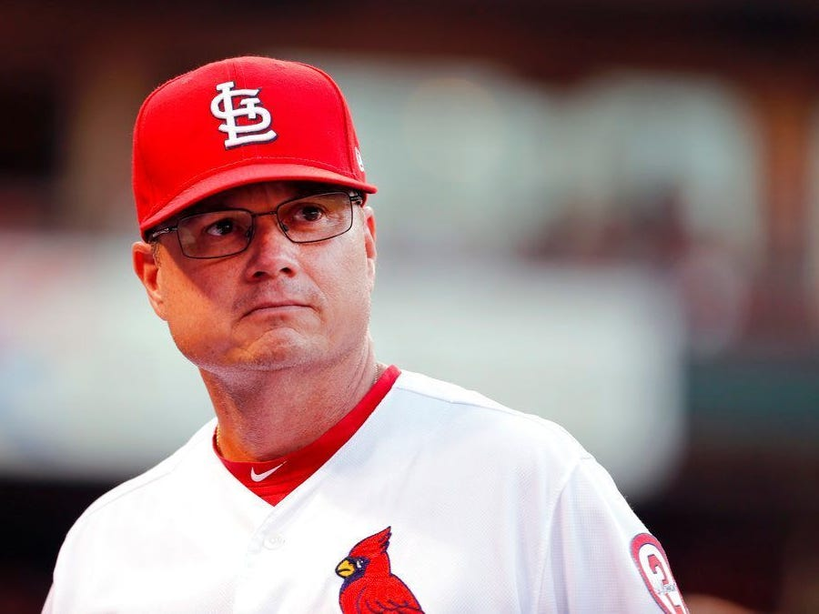 Aug. 28: Former Springfield Cardinals manager made permanent manager of St. Louis Cardinals.