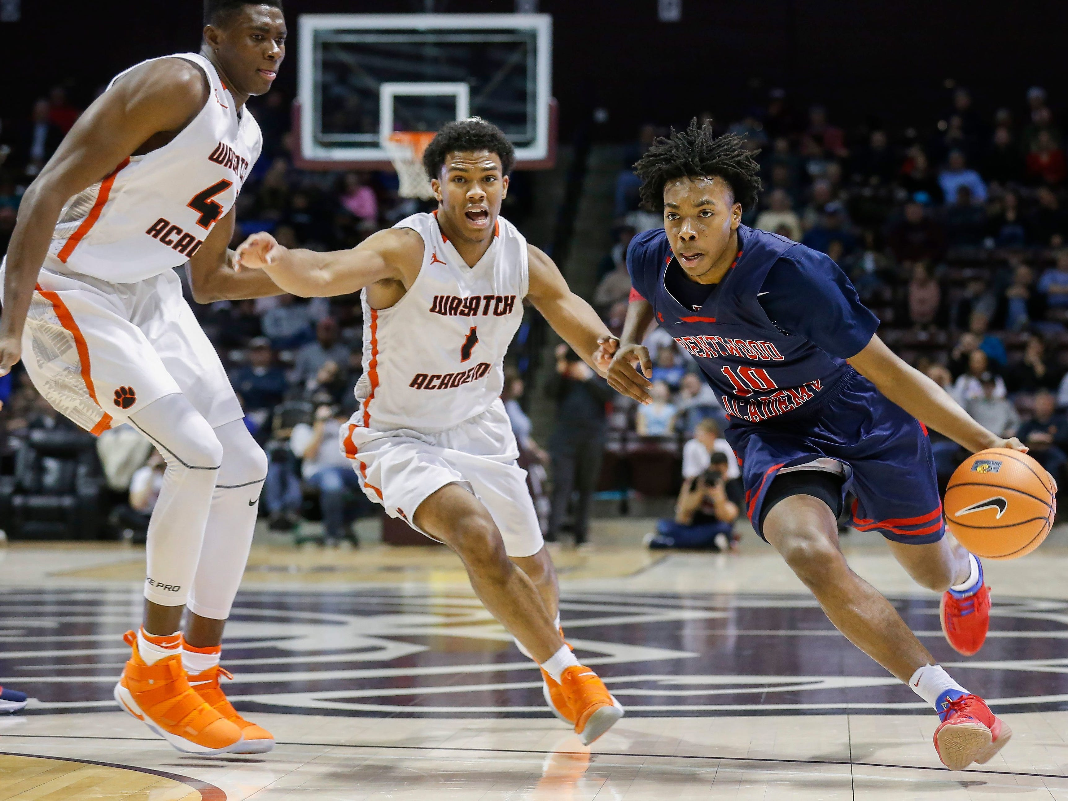 Jan. 13: Darius Garland (10), of Brentwood, makes history at the 2018 Bass Pro Shops Tournament of Champions at JQH Arena.