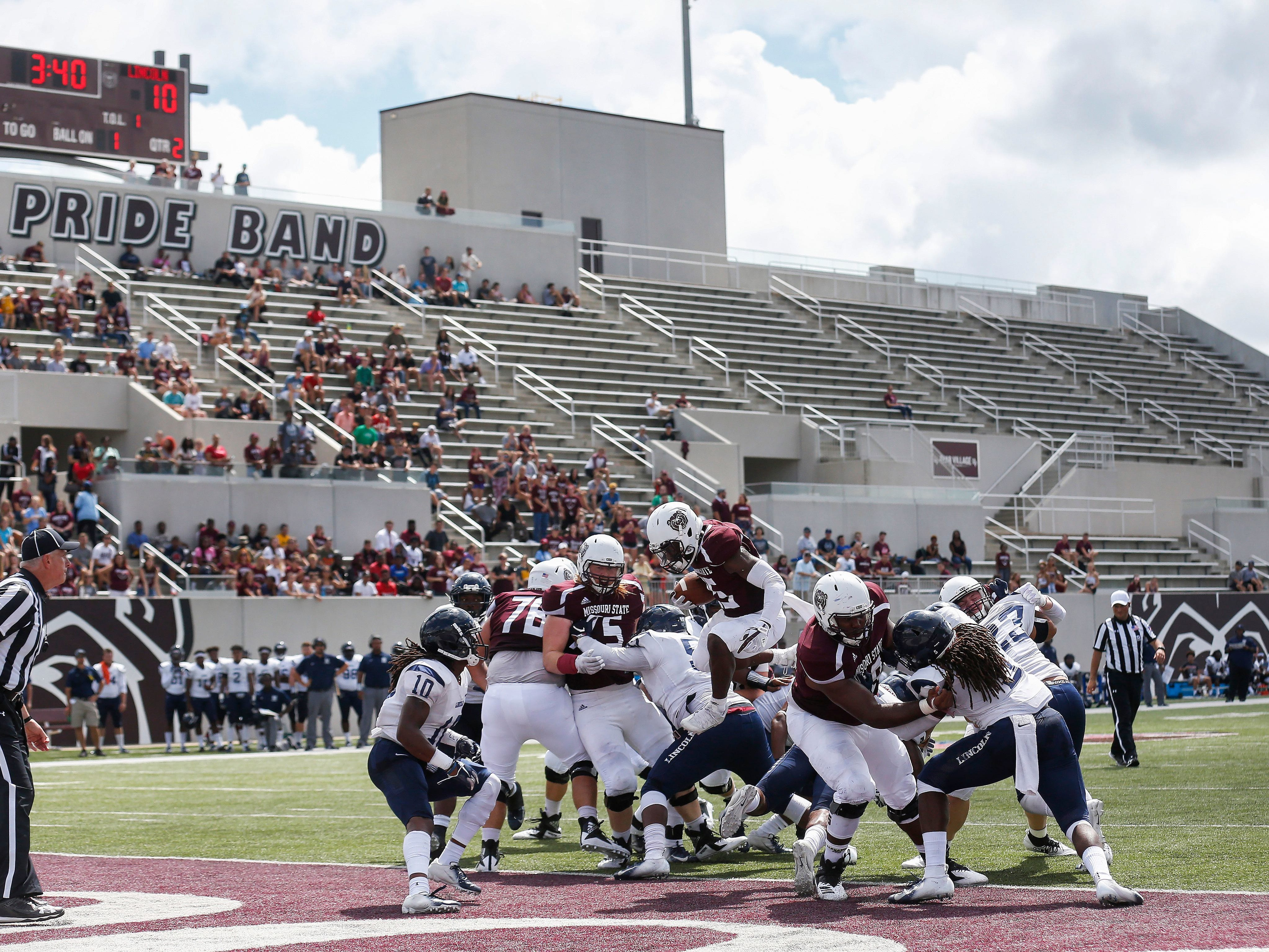 Sept. 6: MSU football plays Thursday morning game in front of 1,284 people.