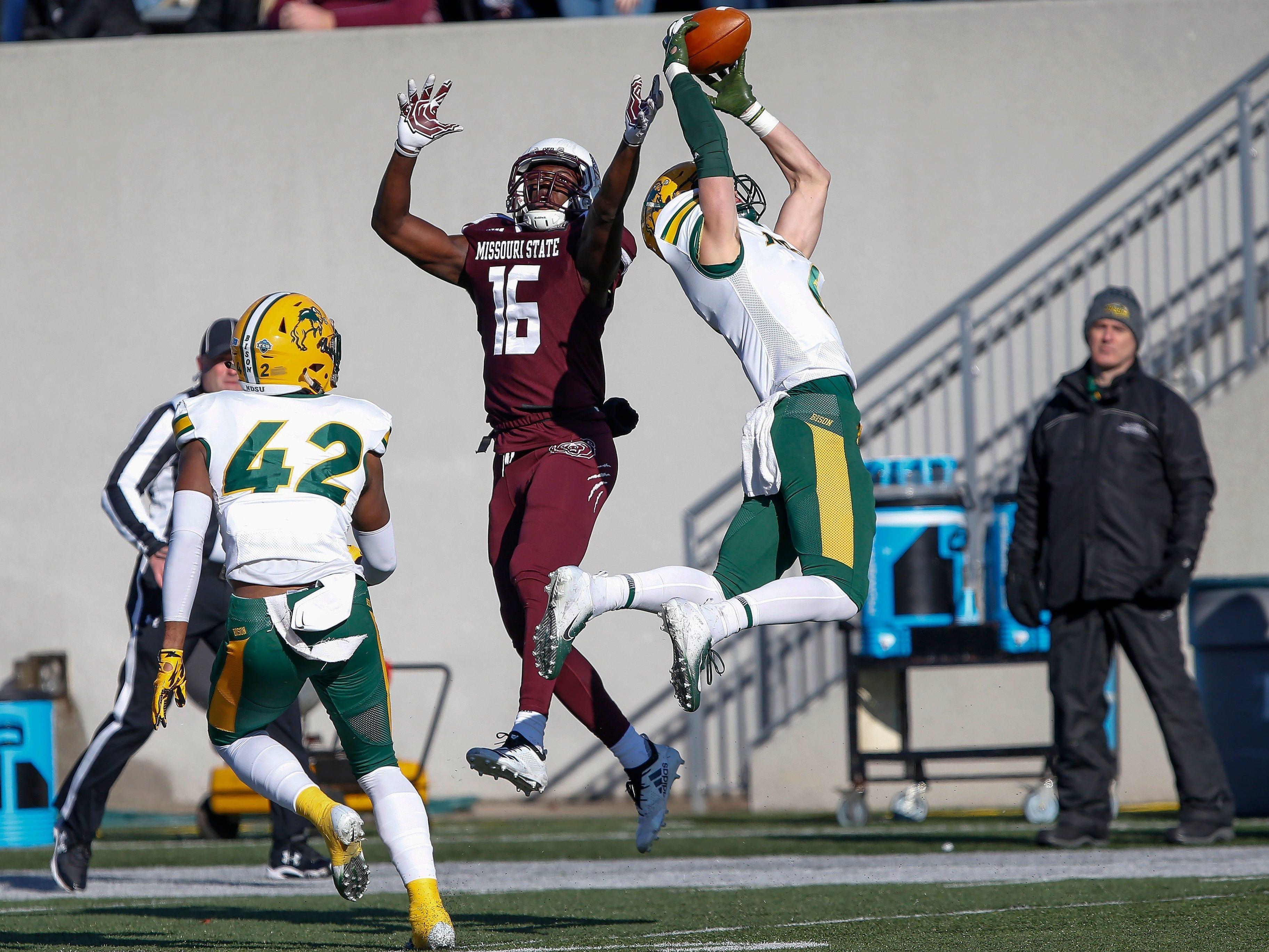 Nov. 10: North Dakota State beats Missouri State football during late season collapse.