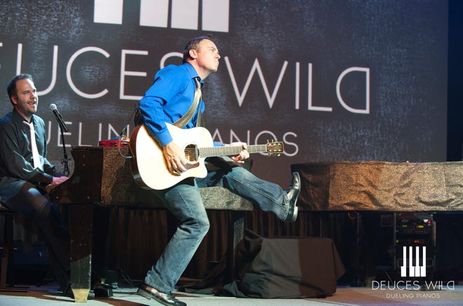 Deuces Wild New Year's Eve returns to the Paramount Center for the Arts with two shows at 7 and 10 p.m.
