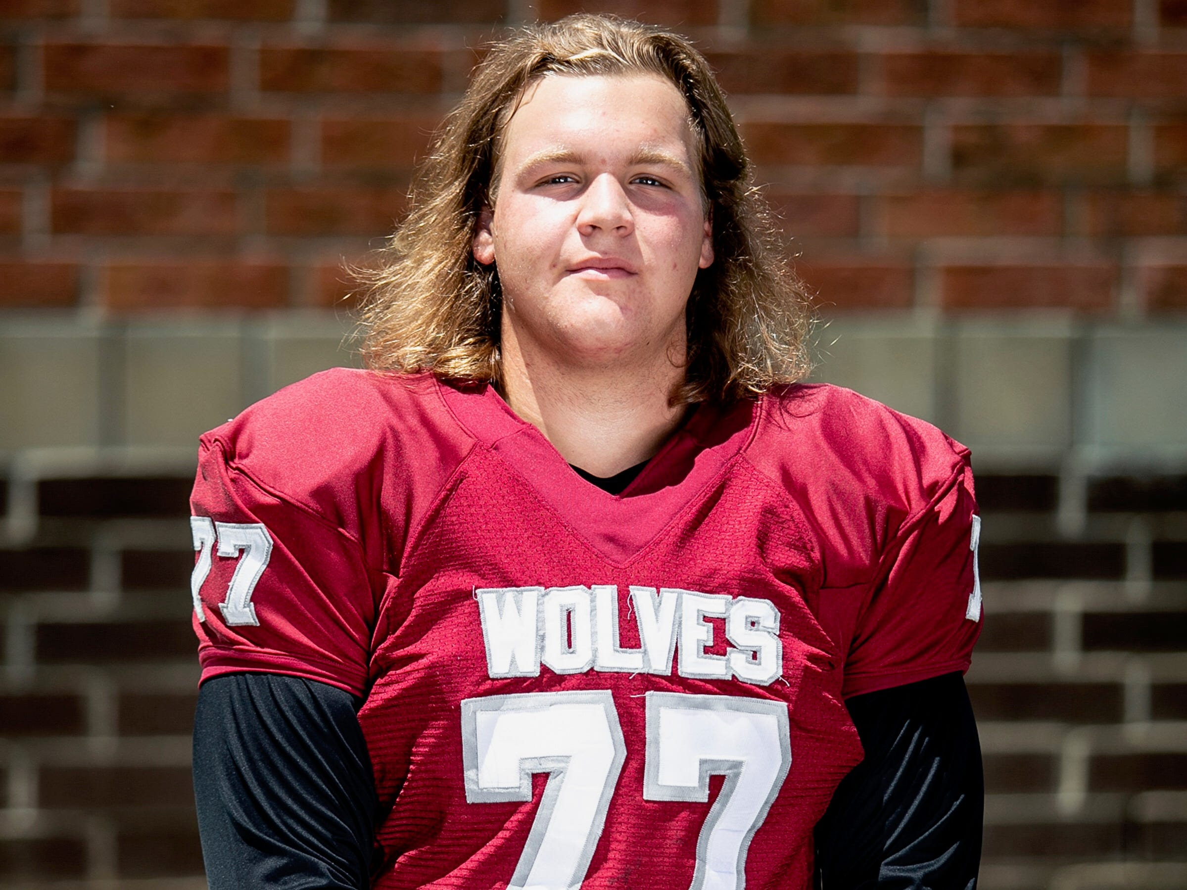 Chiles senior offensive lineman Sam Neely was named to the 2018 All-Big Bend football first team for offense. STATS: 94%, 34 pancakes