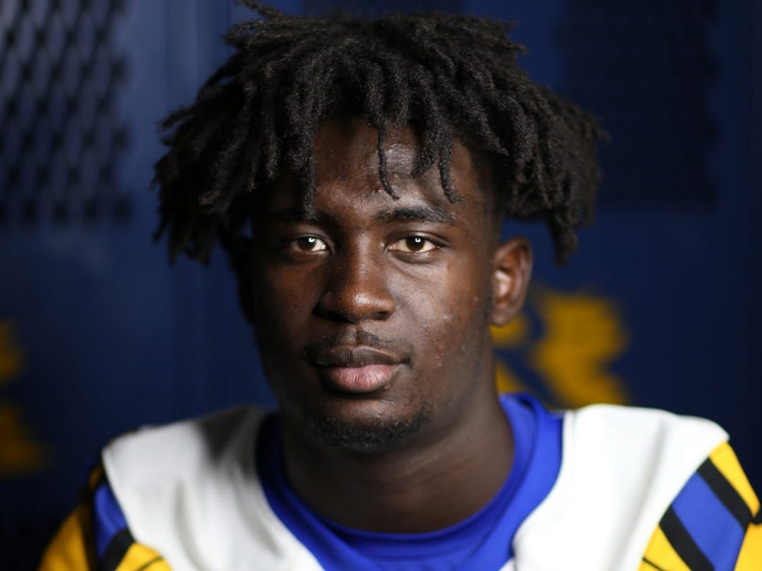 Rickards senior defensive ned Malik Darisaw was named to the 2018 All-Big Bend football first team for defense. STATS: 91 T, 31 TFL, 15 sacks