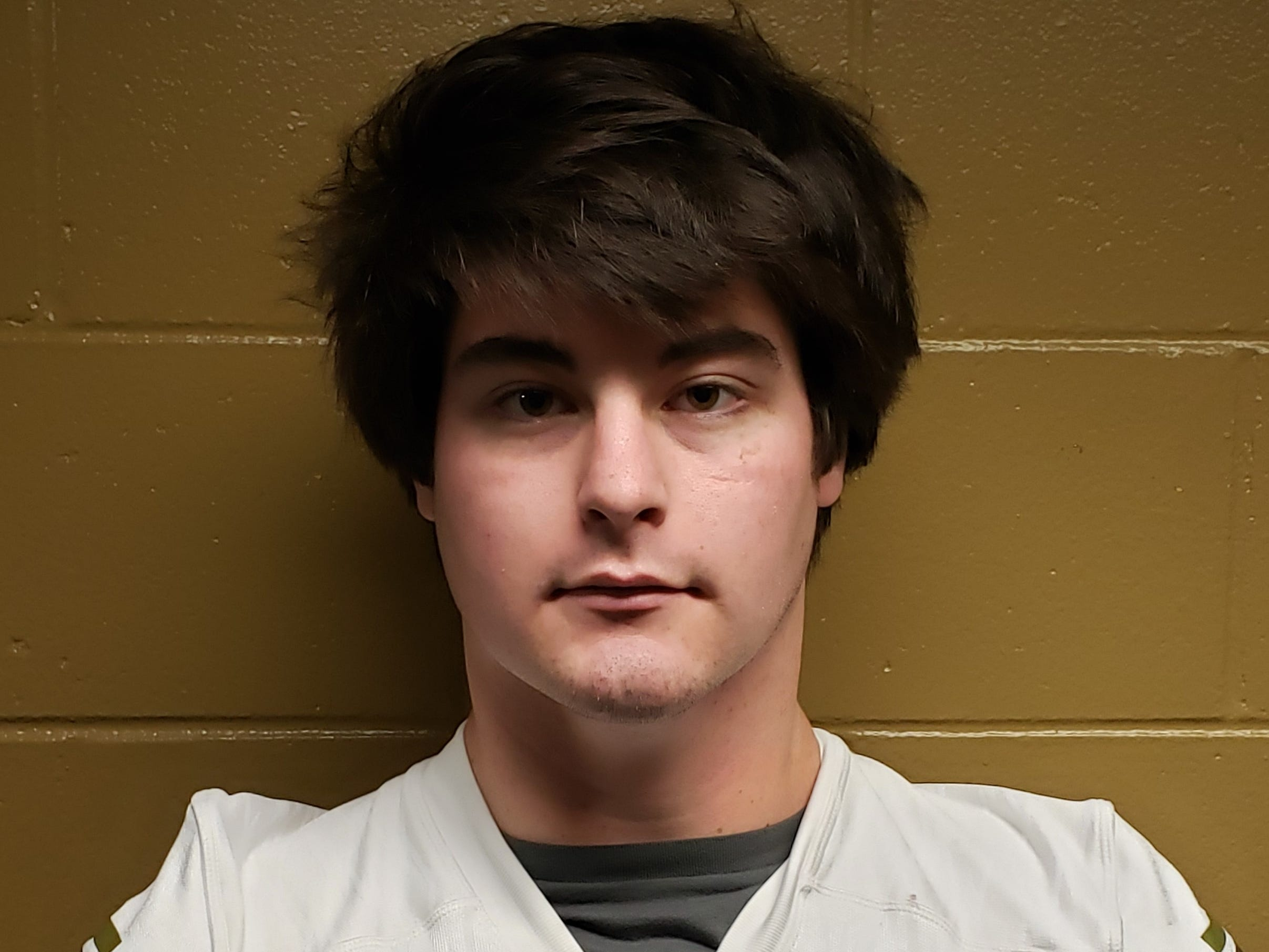 Lincoln senior offensive lineman Evan Quigley was named to the 2018 All-Big Bend football first team for offense. STATS: 87%, 42 pancakes, 16 knockdowns