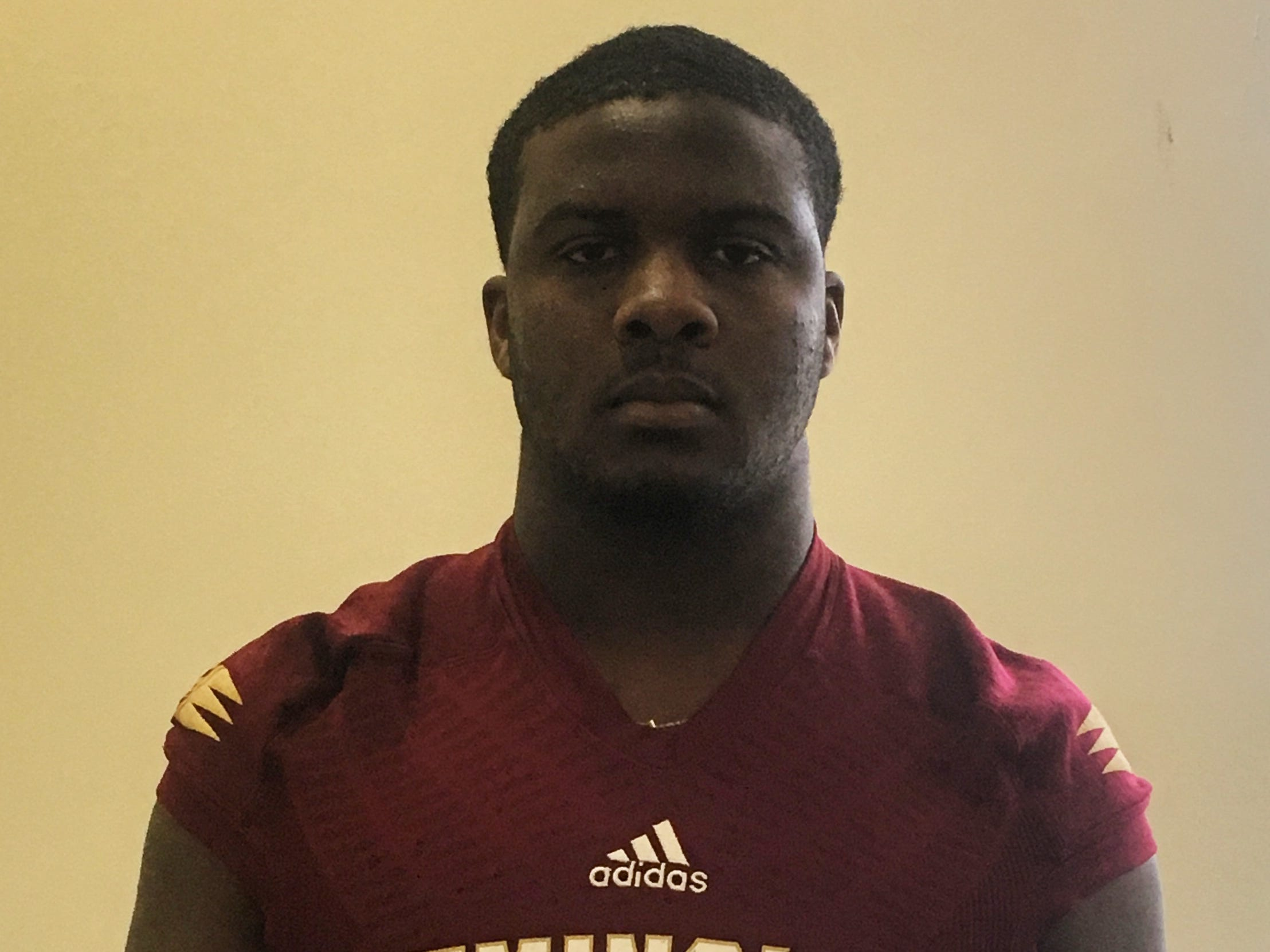 Florida High senior defensive tackle Jolan Gilley was named to the 2018 All-Big Bend football first team for defense. STATS: 67 T, 21 TFL, 3 sacks