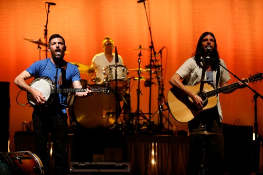 The Avett Brothers try The Tucker Civic Center on for size this time around.
