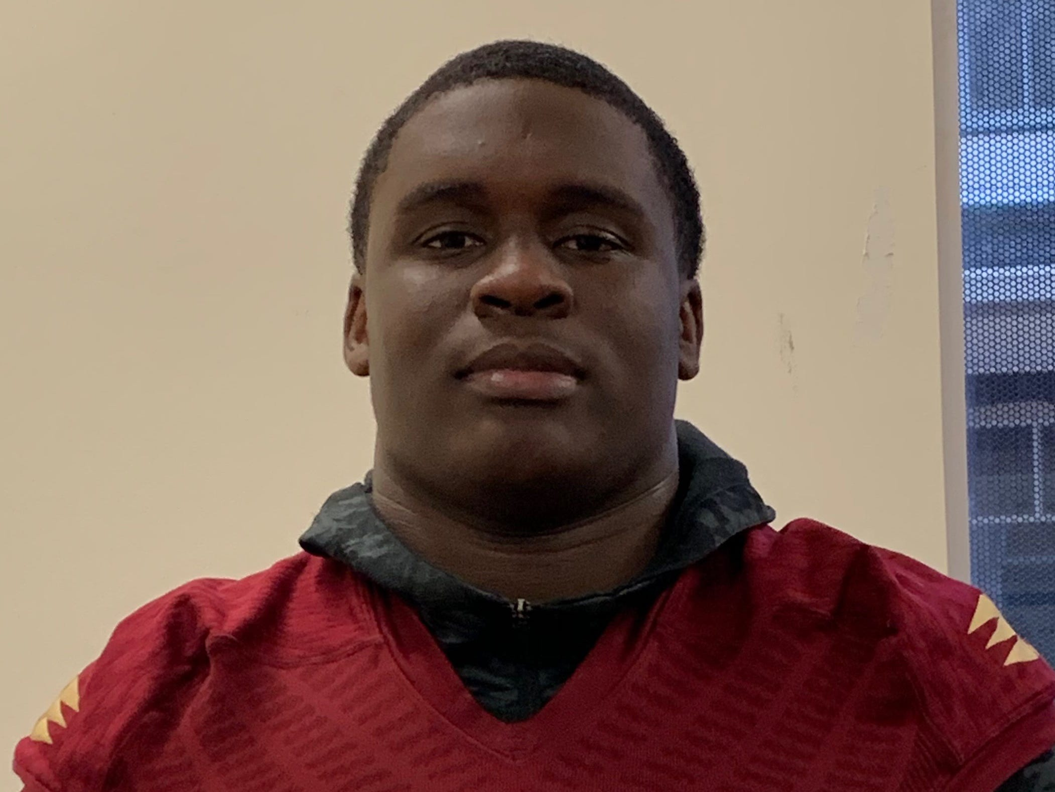 Florida High senior offensive lineman Anthony Belton was named to the 2018 All-Big Bend football first team for offense. STATS: 87%, 64 pancakes, 76 knockdowns
