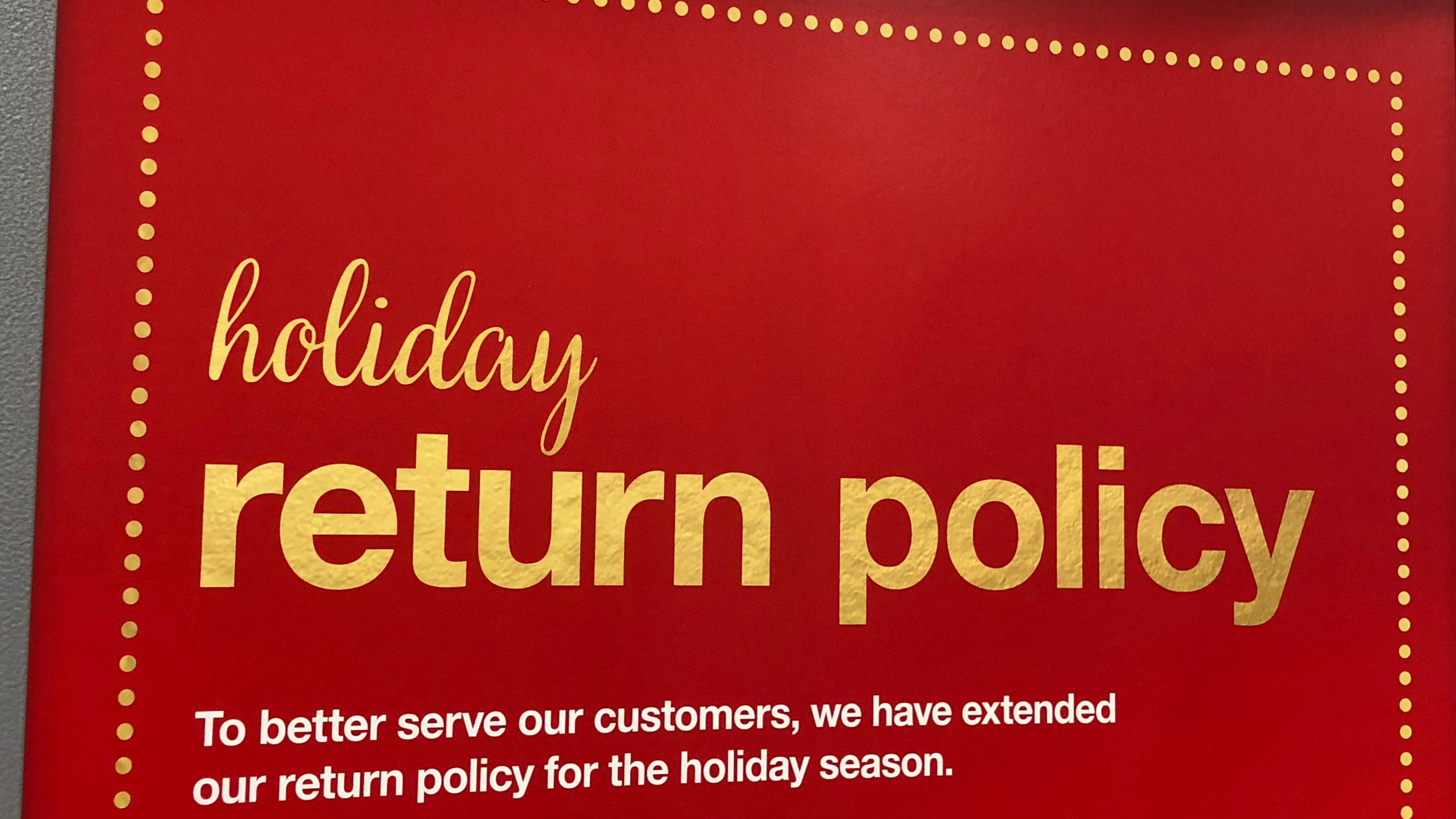 Didn't get what you want for Christmas? Thursday is a huge day for making returns