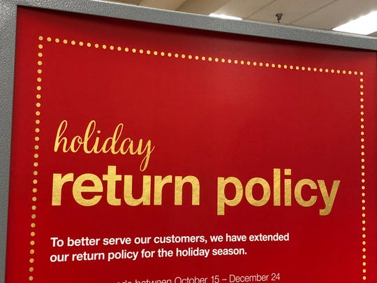 Many retailers have relaxed their regular return policies for the holiday season.