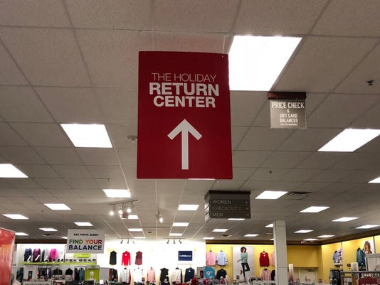 Return sign