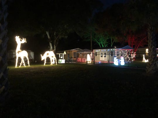 The CFF sanctuary glows with holiday spirit.
