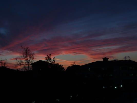 Sunset weather #stockphoto