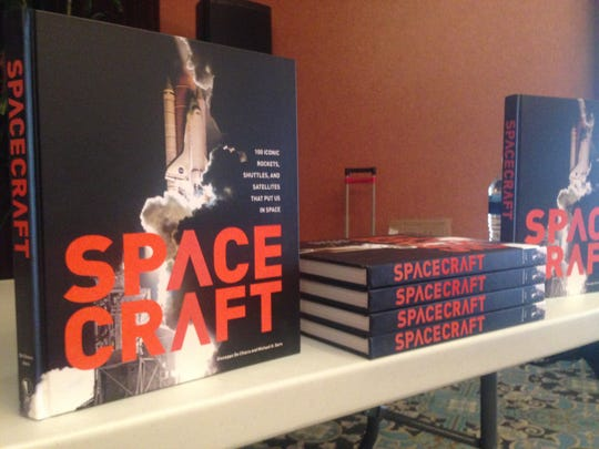 """Space Craft: 100 Iconic Rockets, Shuttles, and Satellites That Put Us in Space"" was written by a Thousand Oaks resident."