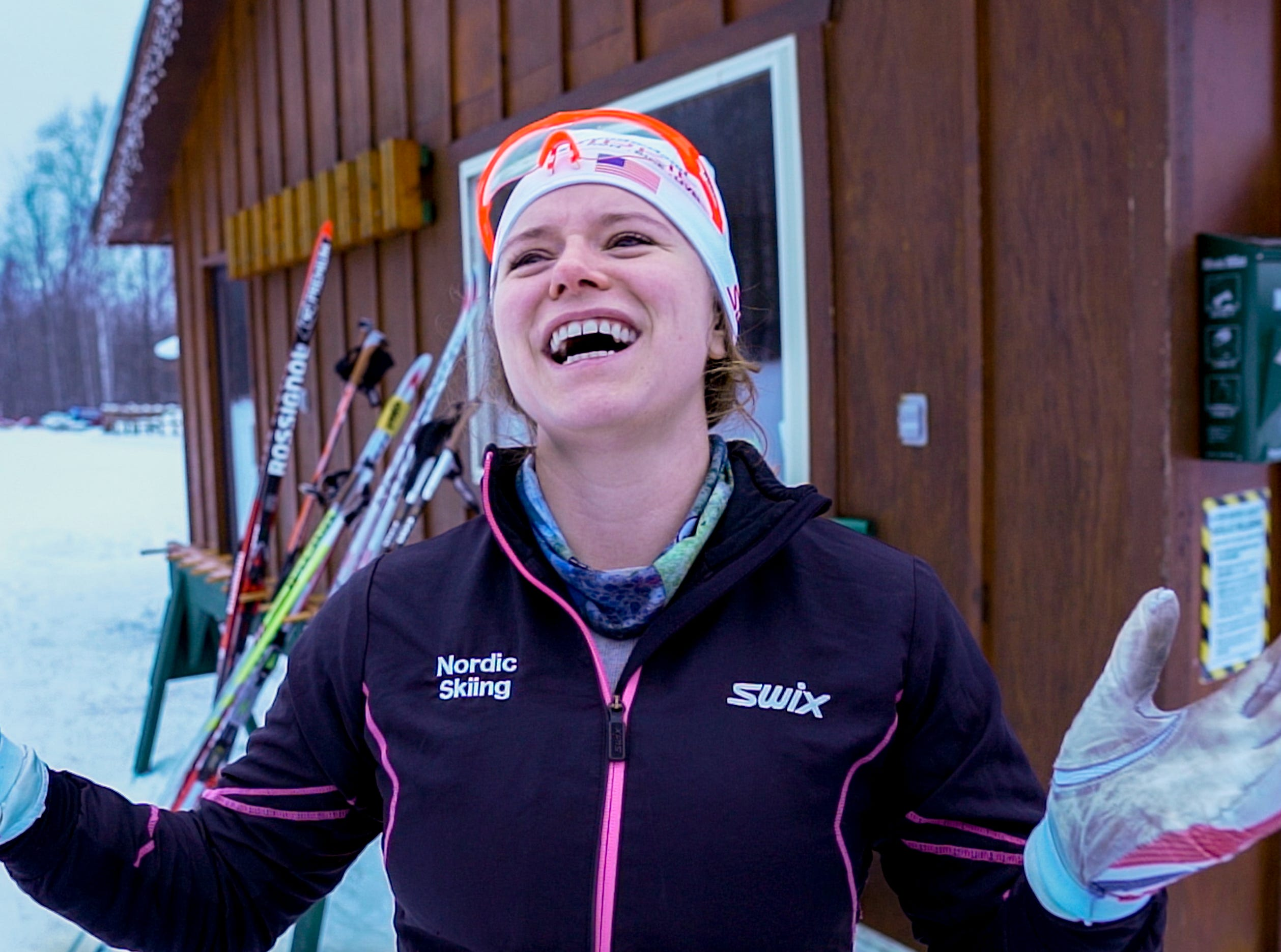 "Britta Schroeter says ""winter is a very important time. It fuels my everything."" She says the Finnish concept of ""sisu"" or a kind of determination and tenacity helps ""Big Snow Country"" (another moniker of the Hurley/Ironwood, Michigan area) residents coping skills."