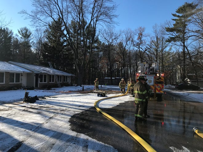 An apartment occupant will be displaced from home after a fire struck in Stevens Point on Christmas Eve.