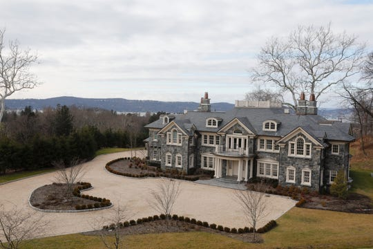 6 Carriage Trail at Graystone on Hudson in Tarrytown on Dec. 24, 2018.  The residence is 23,000 square feet of space with over 40 rooms, one of which is a half basketball court.