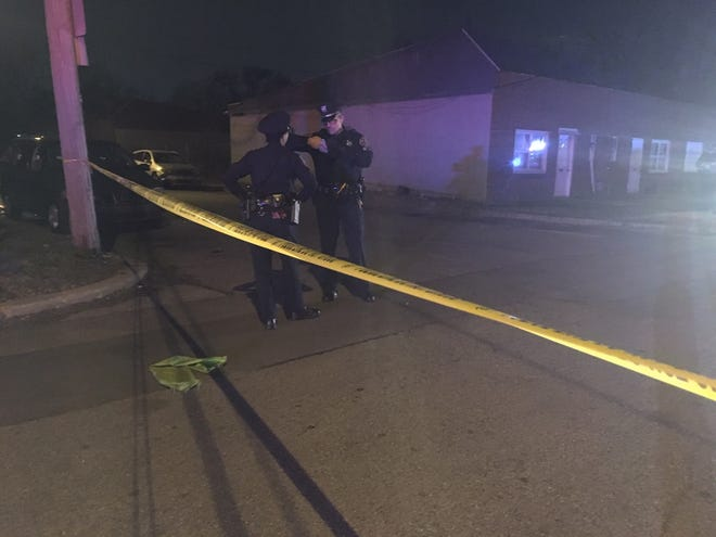 Wilmington police respond to a shooting on Dec. 23 in the 800 block of East 12th Street