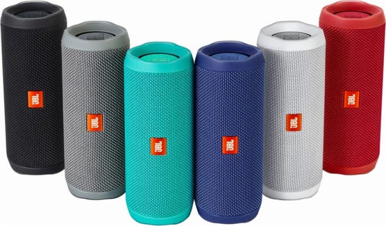 The JBL Flip 4 comes in a variety of colors