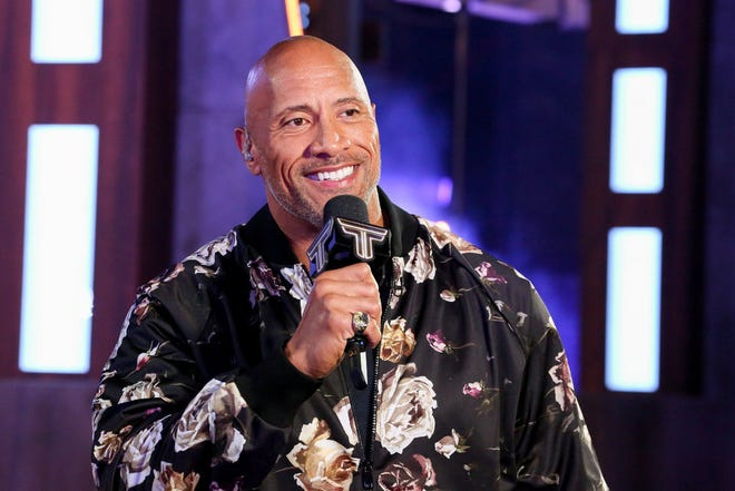 """Dwayne Johnson hosts """"The Titan Games,"""" an athletic competition show premiering Jan. 3 on NBC."""