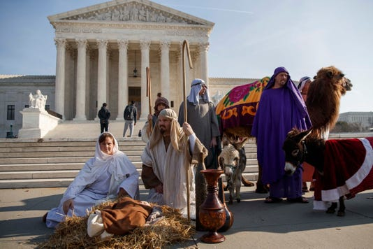 Epa Usa Belief Supreme Court Nativity Scene Rel Government Belief Faith Usa Dc