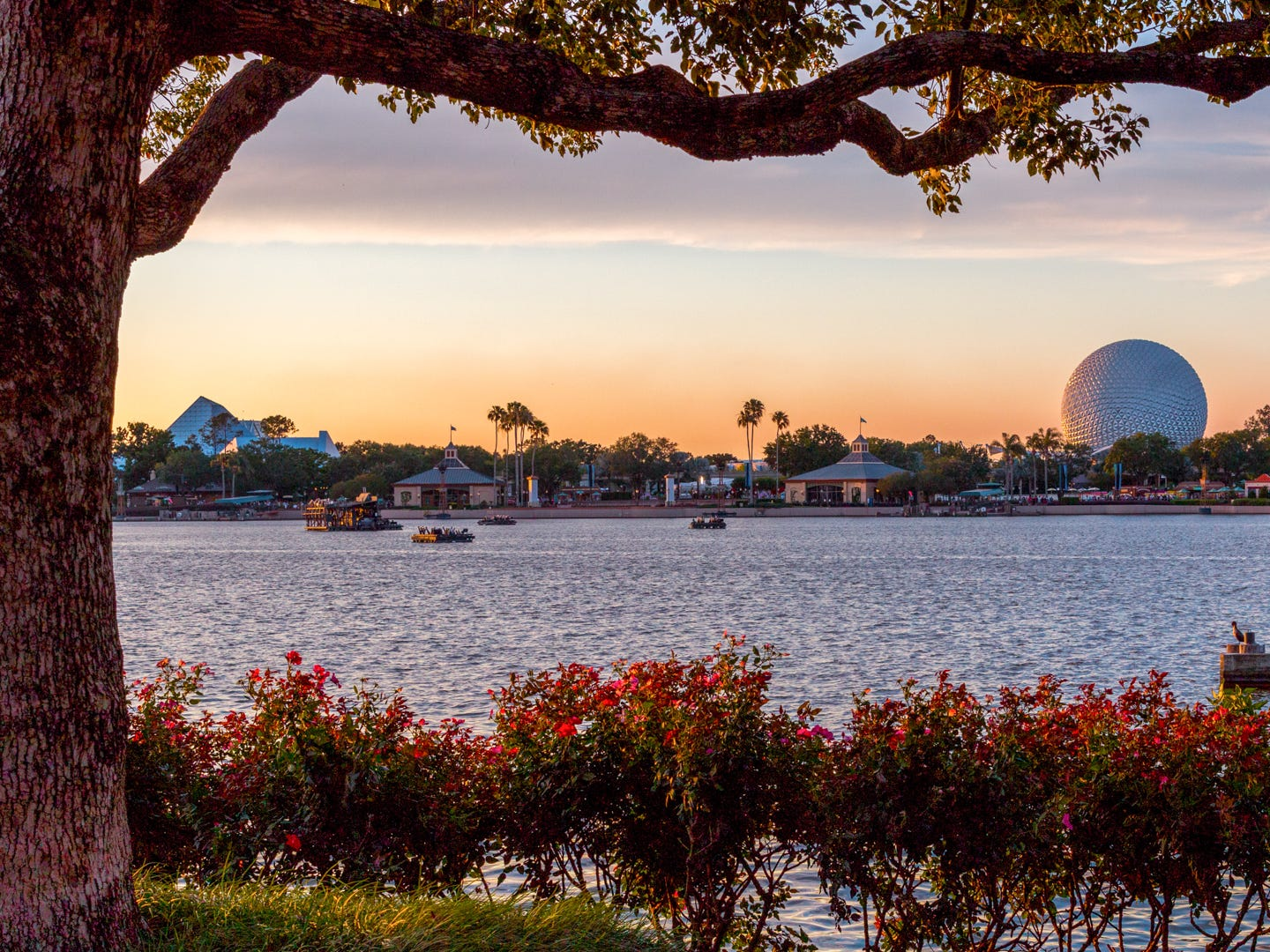 September: Orlando, Florida. Average airfare: $244. Average hotel costs: $108. Average temperature: 81 degrees. If you're planning a Disney World vacation, September is one of the best months to go. During this month, you'll get Orlando's lowest hotel rates of the year, plus you're there in time for Epcot's Food & Wine Festival. The weather is hot, but the water parks are still open so you'll have plenty of opportunities to cool down.