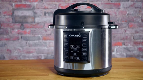 Crock-Pot makes an amazing affordable alternative to the Instant Pot, and our readers dig it.