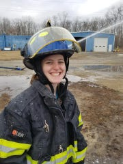Natalie Dempsey, 21, was killed in a single-car crash early Christmas morning. Dempsey, a volunteer firefighter in the South Jersey community of Mizpah, was on her way to a call when the crash occurred.