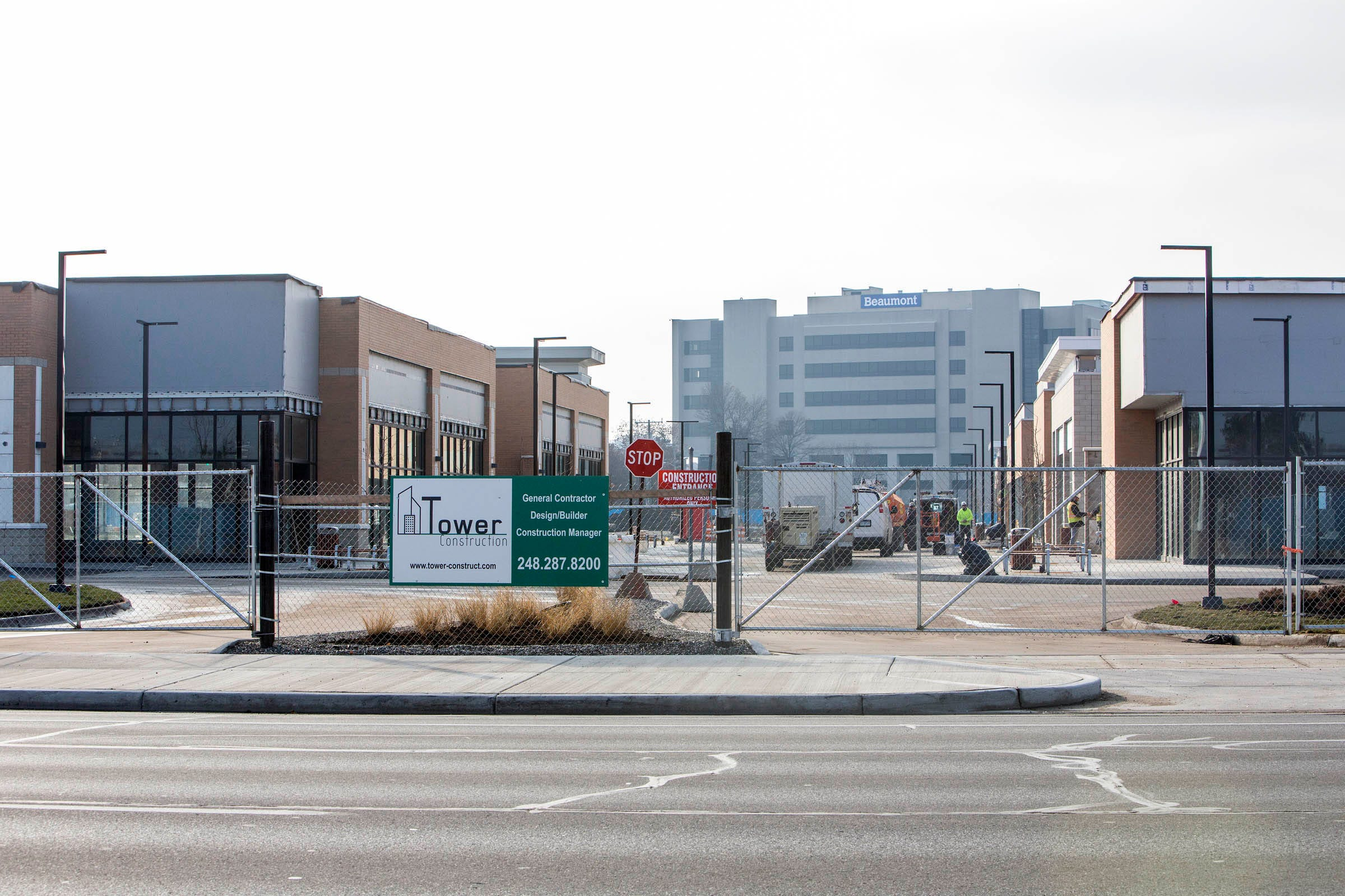 Woodward Corridor's new shopping center to open a year late