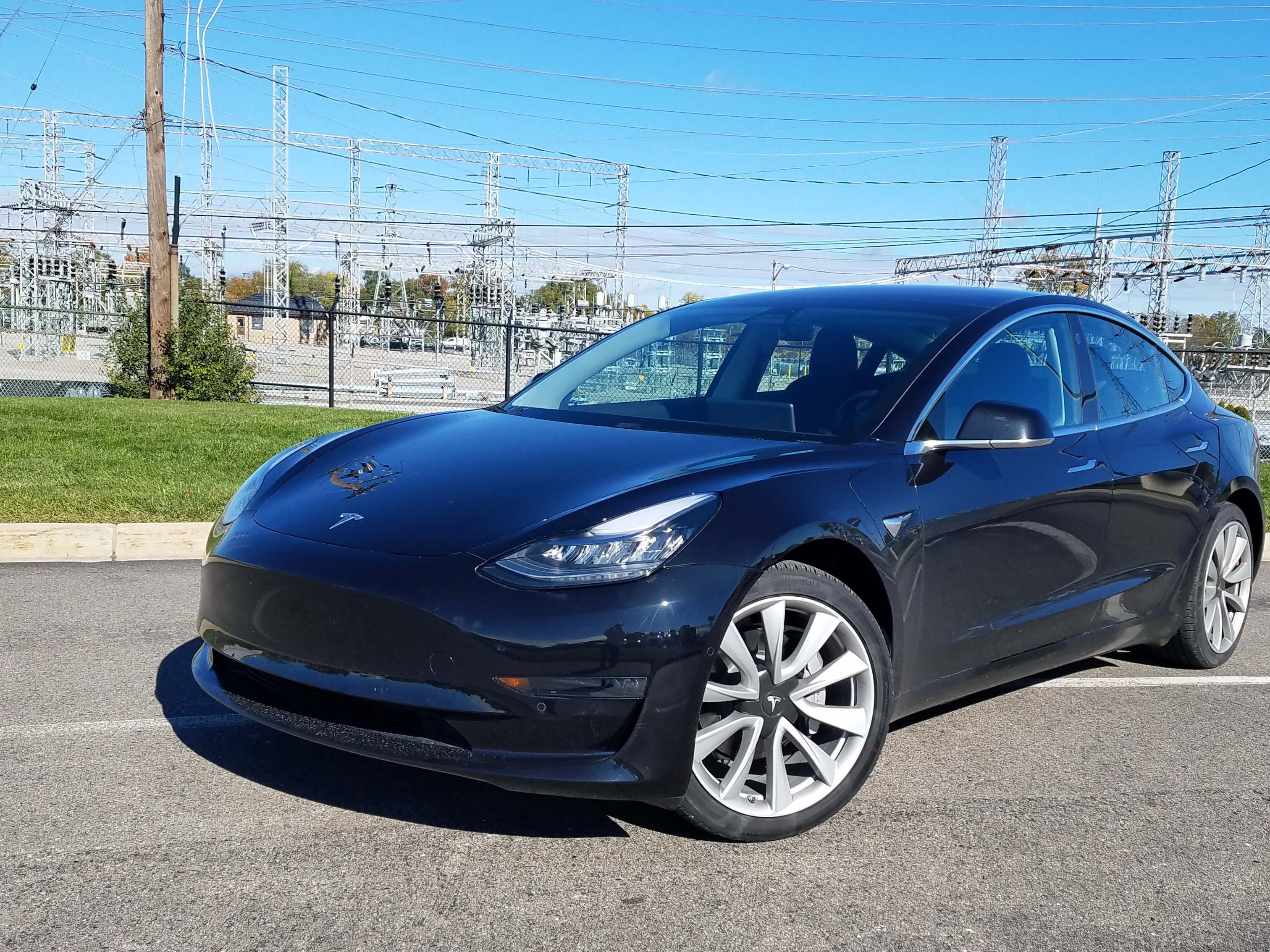 Including $1,000 and $2,500 deposits, this RWD, 310-mile range Tesla Model 3 purchased by Detroit News auto critic Henry Payne cost $57,500. He'll get $7,500 of that back on his taxes through a federal tax credit for electric vehicles.
