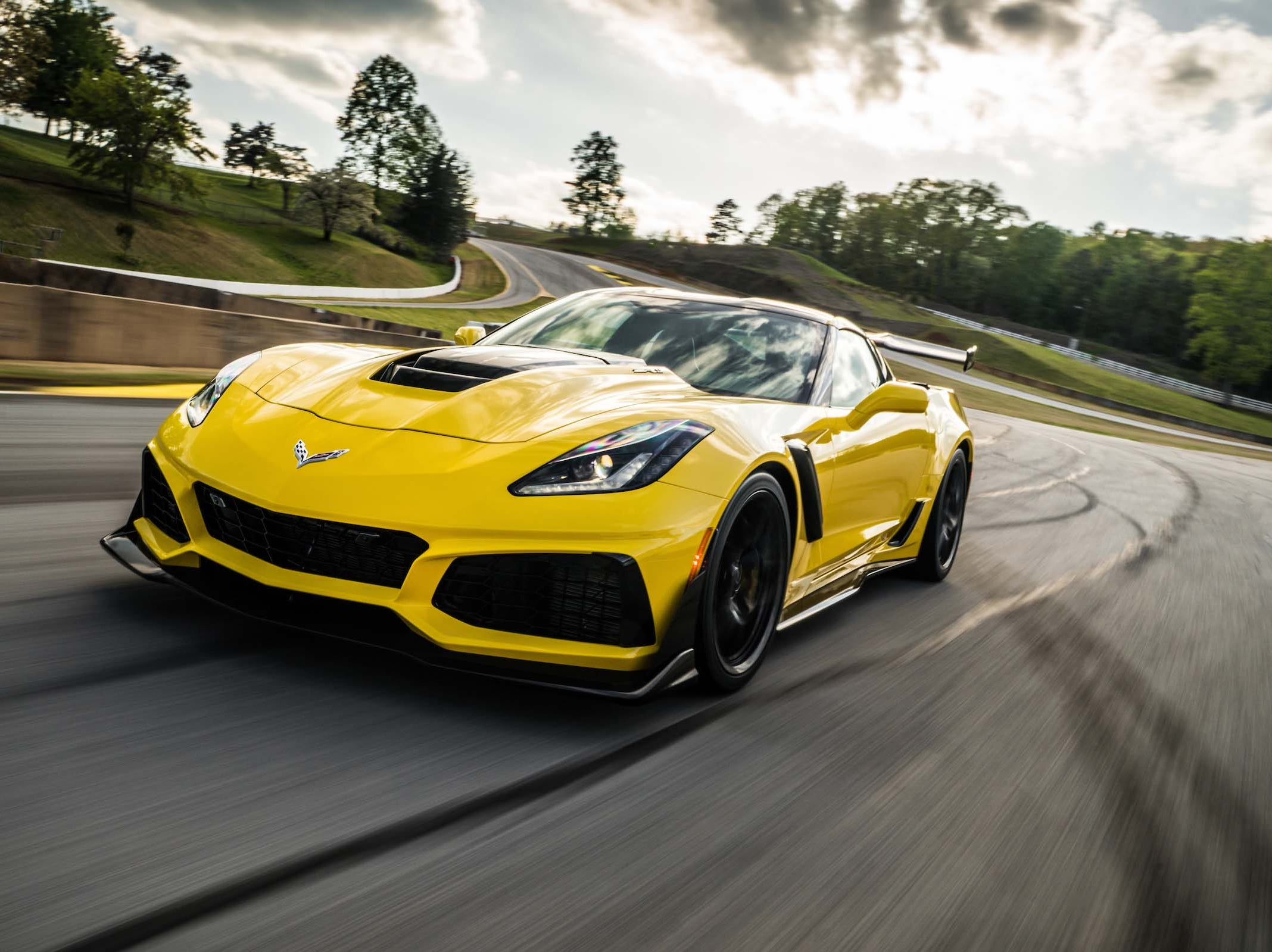 First runner-up for The Detroit News Vehicle of the Year is  the Corvette ZR1.
