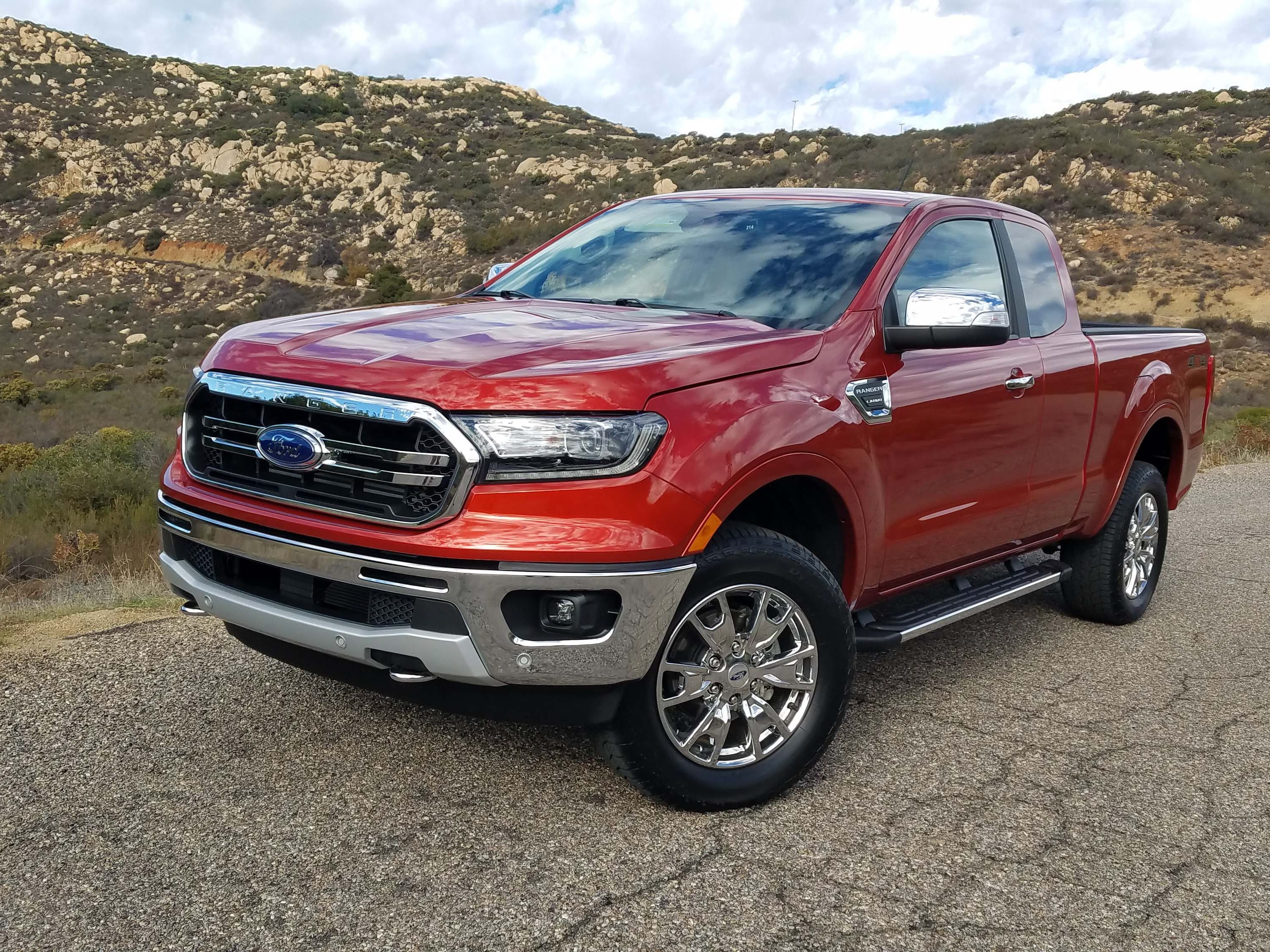 Second runner-up for The Detroit News Vehicle of the Year is the 2019 Ford Ranger. The Lariat SuperCab shown here comes with a 6-foot bed and a $37,305 price tag.
