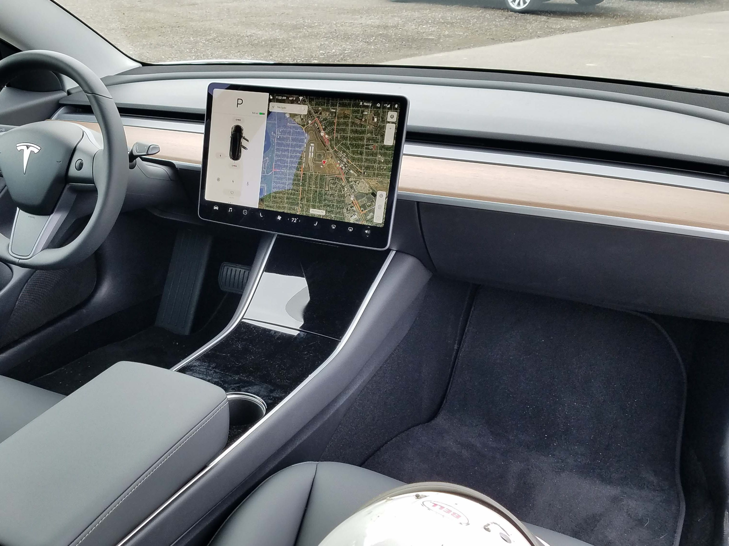 The Tesla Model 3 is almost entirely controlled via its 15-inch touchscreen — making it an iPhone on wheels with a unique automotive operating system.