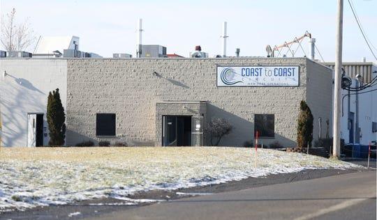 Coast to Coast Circuits at 205 La Grange Avenue, location of a two-alarm fire on Monday .