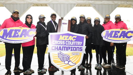 FAMU women's cross country team won their seventh consecutive MEAC title in 2018.