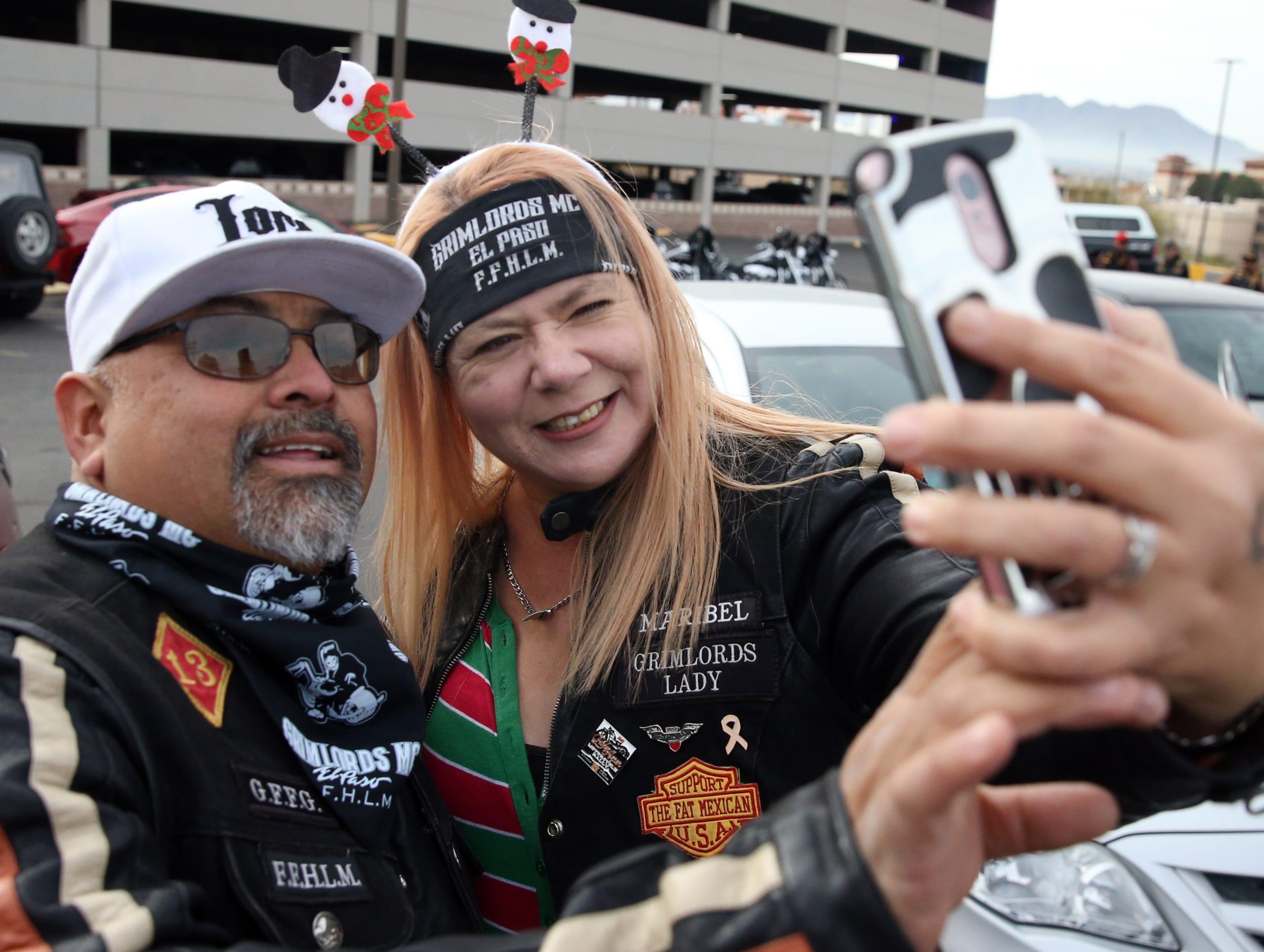 Adrian and Maribel Villalpando outside Providence Children's Hospital Tuesday.
