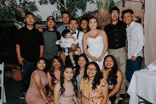 Elmer Pinacho and cousins