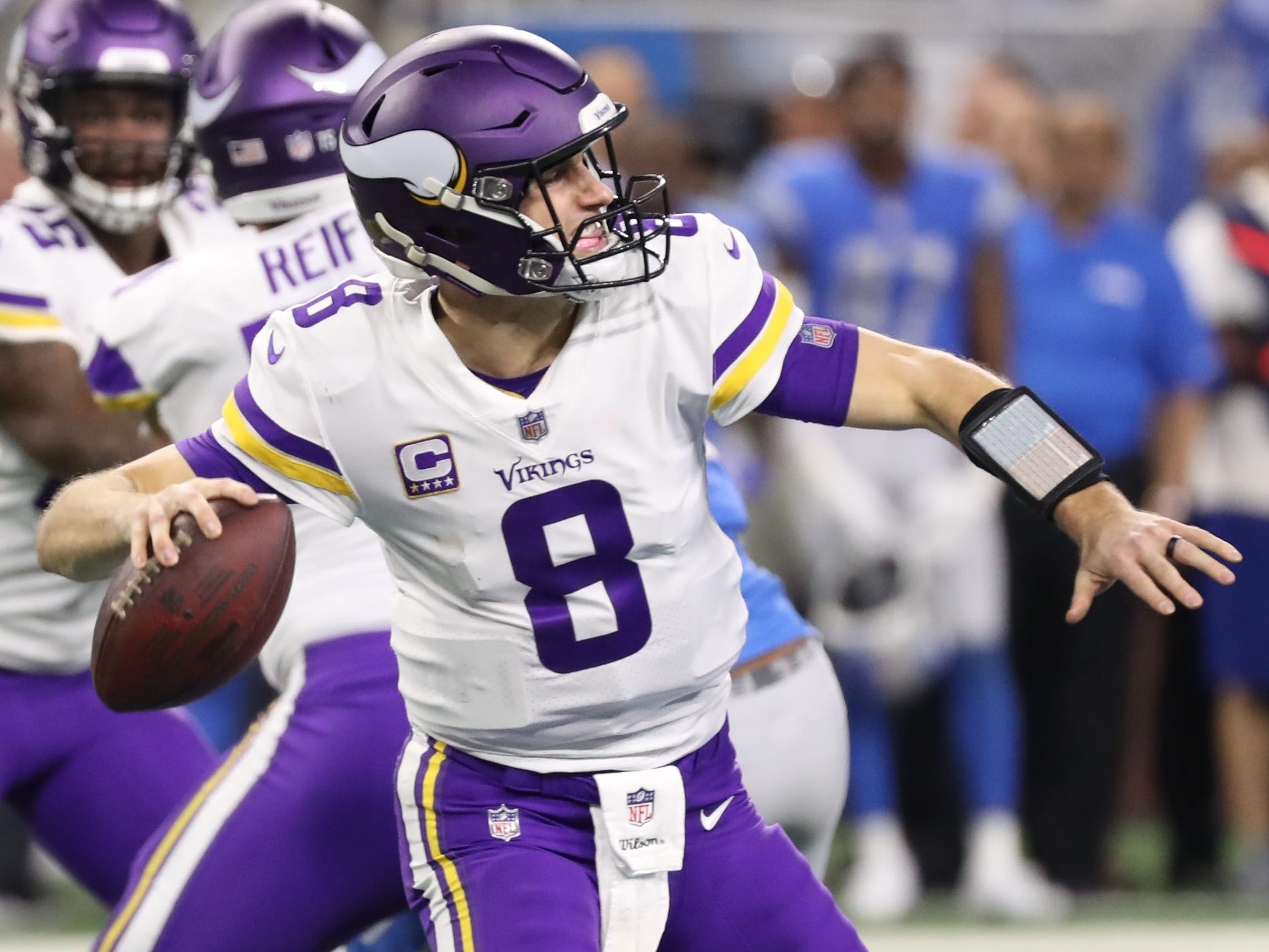 12. Vikings (14): If you think Week 17 is kind of game Minnesota paid Kirk Cousins to win ... welp, it's actually kind of game they paid him to render meaningless. Alas ...